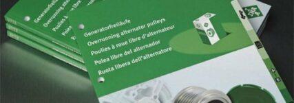 Neuer Katalog 'INA Generatorfreiläufe' ab sofort verfügbar