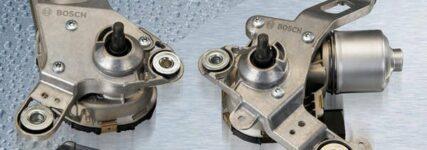 Klein-bauende Wischersysteme von Bosch