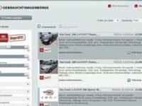 Kia: Onlinebörse für Gebrauchtwagen
