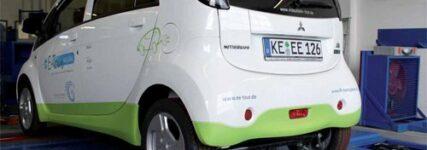 MAHA prüft Elektroauto auf Scheitelrolle