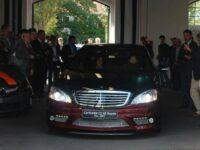 Ministerpräsidentin bei Carlsson zu Besuch