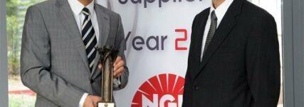 NGK erhält Bestnoten für Lieferfähigkeit