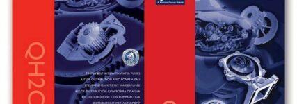Neue Kataloge von QH: Wasserpumpen und Steuerriemen-Kits