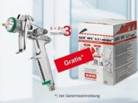 Aktion: 60 Sata RPS 0,3 l Minijet Einwegbecher kostenlos 'on top'