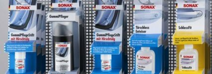Autos mit Sonax 'Winter-fit' machen