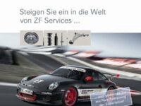 ZF Services verlost Porsche-Fahrtrainings