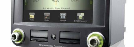 Berührungslose Bedienung: Hirschmann Car Communication stellt auf der IAA eigenes Autoradio vor