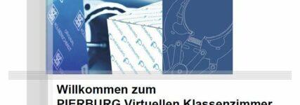 Virtuelle Pierburg-Schulung zum Thema AGR und Kraftstoffpumpe