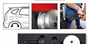 Bend-it Universal Karosserie-Bördelsystem von KS-Tools