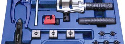 Bördeln von Brems- und Hydraulikleitungen mit Gerät 'Profi' von Kunzer