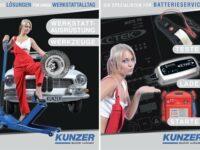 Zwei neue Werkstattkataloge von Kunzer