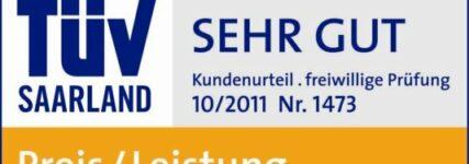 Internet-Autovermittler Carneoo.de mit 'sehr gut' TÜV-zertifiziert