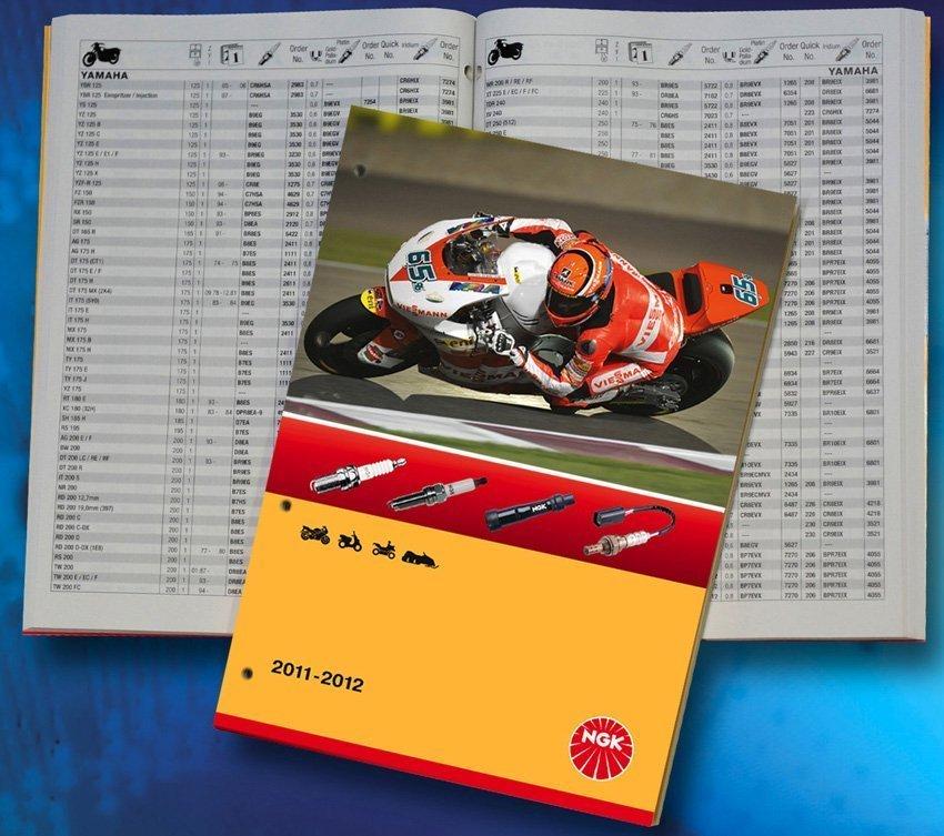 Neuer zweirad katalog von ngk spark plug europe krafthand for Neuer weltbild katalog