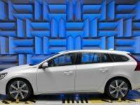 Volvo entwickelt im Akustiklabor Sound für Elektrofahrzeuge