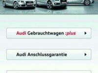 Audi bietet App zur Gebrauchtwagenbörse