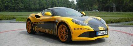 Neueste Sportreifen-Entwicklungen von Continental auf 'Essen Motor Show'
