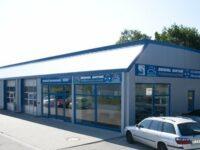 Graeff produziert transparente Stahlhalle 'Compact 3000' für Kfz-Werkstätten