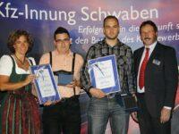 Kfz-Techniker der Innung Schwaben feierten Abschluss ihrer Berufsausbildung