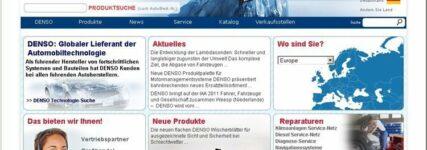 Relaunch: Website von Denso Europe für den europäischen Aftermarket