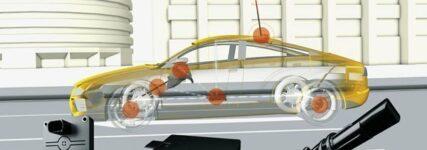 Continental: Fusion von Fahrdynamiksensoren und GPS-Daten