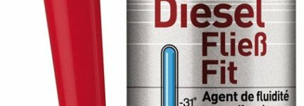 Flüssiger Kraftstoff im Winter mit 'Diesel-Fließ-Fit' von Liqui Moly
