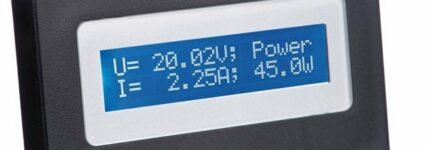 Mit Panel-Meter von H-Tronic die Messwerte im Blick