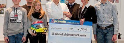 Premio Reifen spendet an Kinderherzzentrum St. Augustin