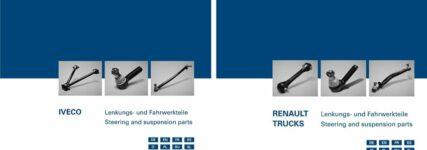 Neue ZF-Kataloge für Nutzfahrzeuge der Marken Iveco und Renault Trucks