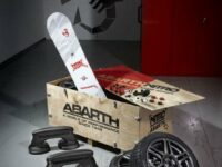 Abarth bietet Sonderzubehör 'aus der Kiste' für den Winter