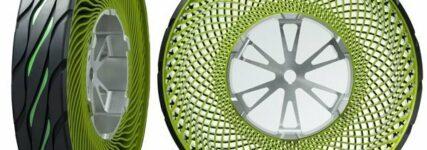 Bridgestone entwickelt luftlose Autoreifen