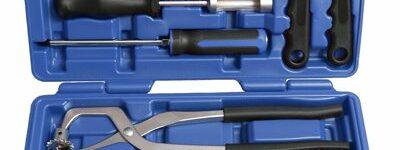 15-teiliger Montagesatz von Kunzer für den Bremsenservice