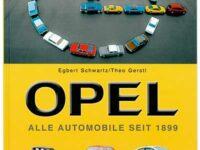Reichlich bebilderter Typenatlas erzählt 150 Jahre Markengeschichte von Opel