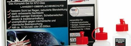 Nano-Tech-Glasversiegelung von Rameder für bessere Sicht im Winter