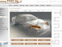 Tyre24 erweitert Online-Portfolio um Tuning und sportliche Teile