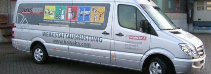 Service-Roadshow: Haweka mit Schulungsmobil unterwegs
