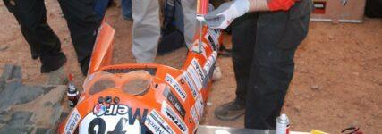 Kleben, Dichten, Reparieren: 'Loctite Charlies' wieder bei der 'Dakar' im Einsatz