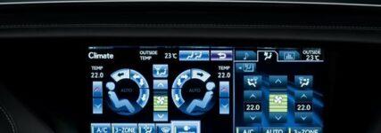 Neuer Lexus GS mit energiesparender S-Flow-Klimaautomatik