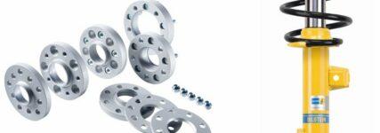 Fahrwerkstechnik: Komponenten von Eibach für den Audi A 4