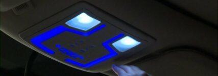 Handbewegung steuert LED-Lampe von Federal-Mogul