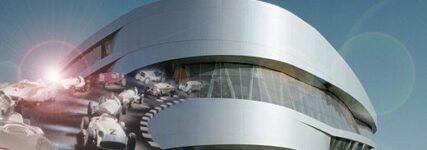 Mercedes-Benz-Museum stellt Facebook-App vor