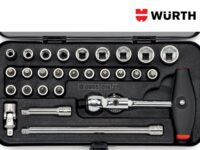 Neues Kompakt-Steckschlüsselsortiment von Würth