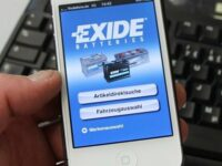 Exide Technologies bringt App zur Batterieauswahl auf den Markt