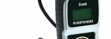 Batterieschonendes Prüfgerät 'Crank' von Herth+Buss