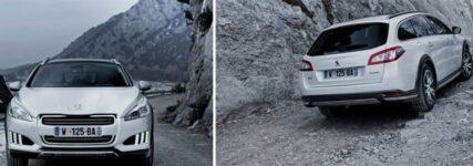 Vier Fahrmodi beim Full-Hybrid-Diesel Peugeot 508 RXH