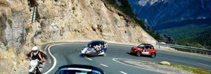 e-miglia 2012: Alpen-Tour mit E-Mobilen