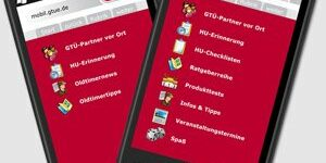 Web-App von der GTÜ für Oldtimerfans