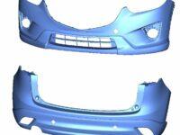 Stoßfänger von Mazda: Gleiche Festigkeit bei geringerem Gewicht