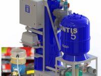 Wasseraufbereitungsanlage von Christ mit elektronischem Kontaktwasserzähler