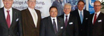 Torsten Treiber neuer Obermeister der Kraftfahrzeuginnung Region Stuttgart