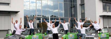 Team Sternenflotte bei Allgäu-Orient-Rallye 2012 auf dem vierten Platz